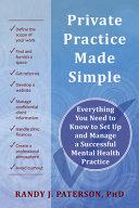 Private Practice Made Simple Book PDF