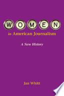 Women In American Journalism Book