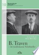 B. Traven – der (un)bekannte Schriftsteller