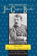Pdf The Diaries of John Gregory Bourke Volume 5