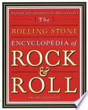 Rolling Stone Encyclopedia of Rock & Roll