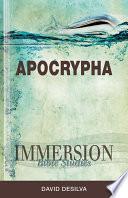 Immersion Bible Studies Apocrypha