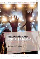 Religion and popular music: artists, fans, and cultures