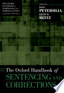 The Oxford Handbook Of Sentencing And Corrections