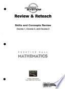 Prentice Hall Mathematics Course 1,2,3