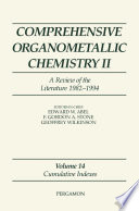 Comprehensive Organometallic Chemistry II  A Review of the Literature 1982 1994