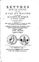 Lettres Sur La Sicile Et Sur L'Ile De Malthe
