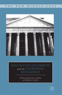Boccaccio's Decameron and the Ciceronian Renaissance Pdf/ePub eBook