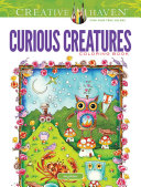 Creative Haven Curious Creatures Coloring Book