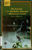 The Journal of the Barbados Museum and Historical Society