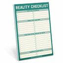 Knock Knock Reality Checklist Pad
