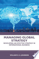 Managing Global Strategy