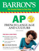 AP French Language and Culture with Online Test   Downloadable Audio