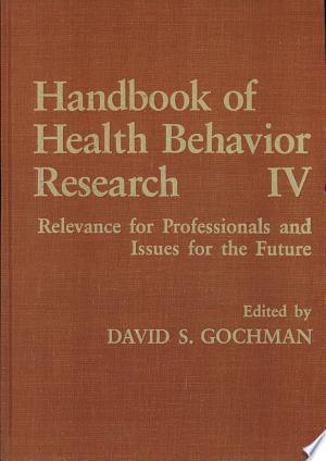 Handbook+of+Health+Behavior+Research+IV