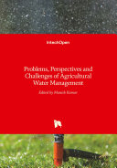 Problems  Perspectives and Challenges of Agricultural Water Management Book