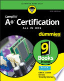 CompTIA A  Certification All in One For Dummies Book