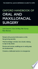 Oxford Handbook of Oral and Maxillofacial Surgery