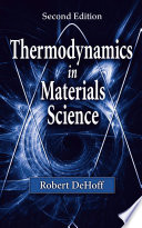Thermodynamics in Materials Science Book