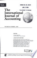 The international journal of accounting