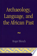 Archaeology Language And The African Past