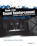 Pdf Basic Live Sound Reinforcement