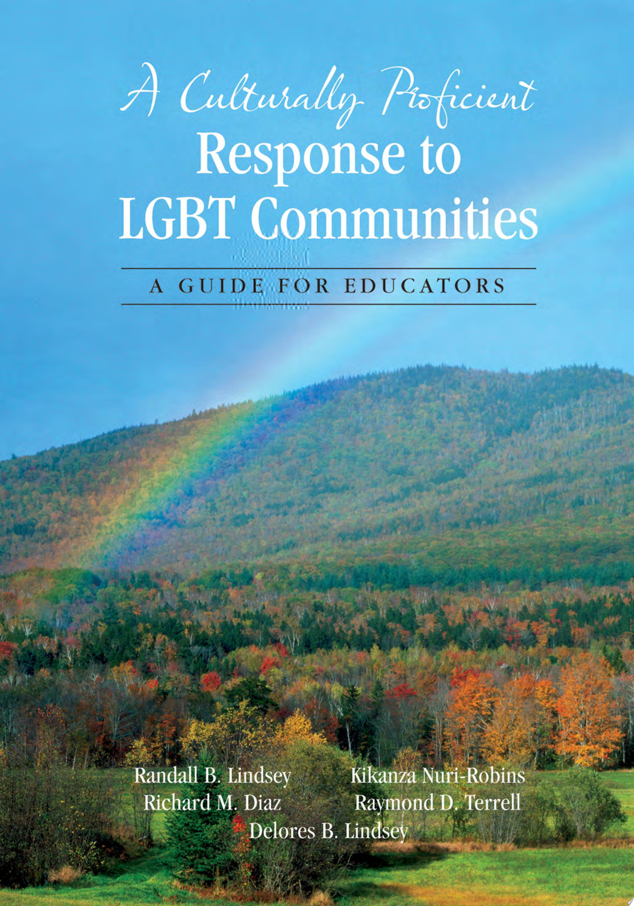 A Culturally Proficient Response to LGBT Communities