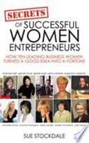 Secrets Of Successful Women Entrepreneurs Book PDF