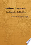 Multilingual Perspectives In Geolinguistics 2nd Edition