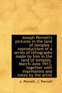 Joseph Pennell's Pictures in the Land of Temples Pdf/ePub eBook