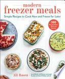 Modern Freezer Meals Book
