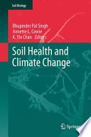 Soil Health And Climate Change Book PDF