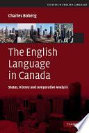 The English Language in Canada