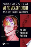 Fundamentals of Work Measurement Book