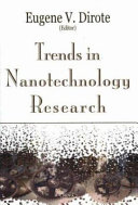 Trends in Nanotechnology Research