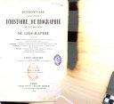 Dictionnaire encyclopédique d'histoire, de biographie, de mythologie et de géographie,...