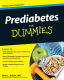 """Prediabetes For Dummies"" by Alan L. Rubin"