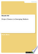Project Finance in Emerging Markets