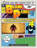 Blank Panel Comic Book for Sketching 4