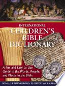 International Children s Bible Dictionary