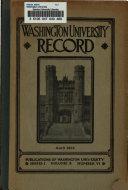 Washington University Serial List
