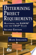 Determining Project Requirements Book PDF