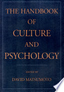 The Handbook of Culture   Psychology