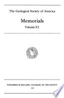 Memorials - The Geological Society of America