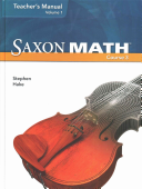 Saxon Math Course 3