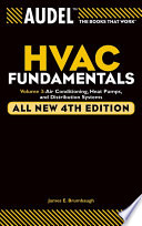 Audel HVAC Fundamentals, Volume 3  : Air Conditioning, Heat Pumps and Distribution Systems