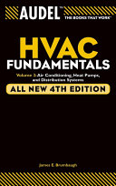 Audel HVAC Fundamentals, Volume 3