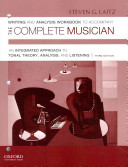 Writing and Analysis Workbook to Accompany the Complete Musician Book