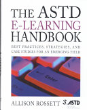 The Astd E Learning Handbook Book PDF