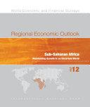Regional Economic Outlook, October 2012
