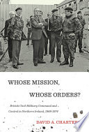 Whose Mission Whose Orders